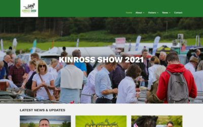 New Kinross Show Website